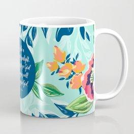 Faith is like a bright ray of sunlight. - St. Francis de Sales Coffee Mug