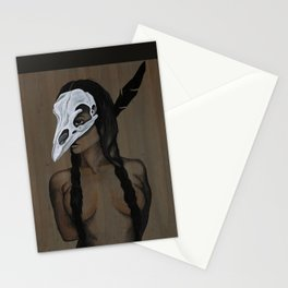 Feather and Bone Stationery Cards