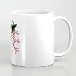 Sketch of an Eye with sakura Coffee Mug