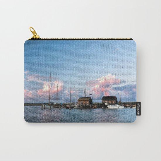 Evening at the harbour Carry-All Pouch