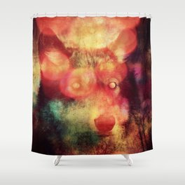 Crossing the Rubicon Shower Curtain