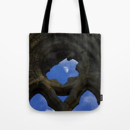 Penned in like a moon between arches Tote Bag