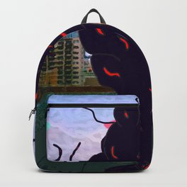 Dark Storm upon a City Backpack