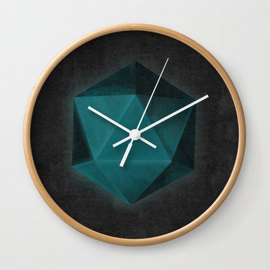 spatial geometry Wall Clock