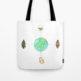 Anthropology: The Four Subdisciplines (Version 1.0) Tote Bag