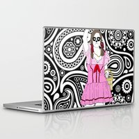 dorothy Laptop & iPad Skins featuring Dorothy Stands Up by Baby Nightsoil