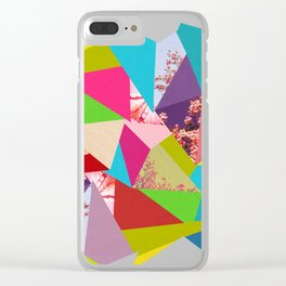Colorful Thoughts Clear iPhone Case
