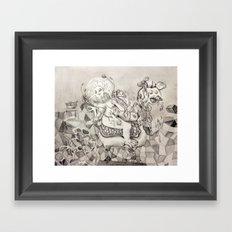 Momento mori. Framed Art Print