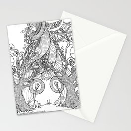 TIME STANDS STILL (stationary card) Stationery Cards