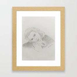 Ingrid Bergman Framed Art Print