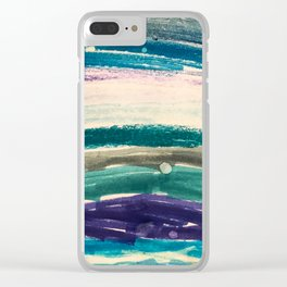 OceanVibes Clear iPhone Case