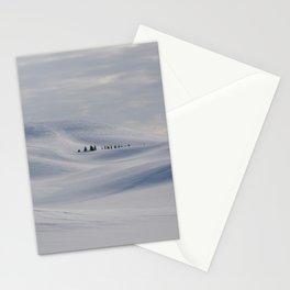 Frozen winter hills, Palouse, Washington Stationery Cards