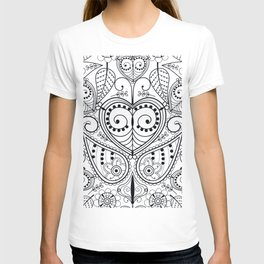 Leaf Mirrors T-shirt