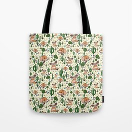 Fennec Foxes Tote Bag