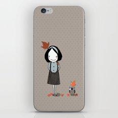 Autumn in my heart iPhone & iPod Skin