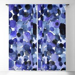 Blue bubbles Blackout Curtain
