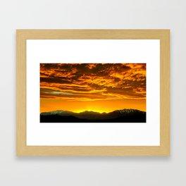 Vibrant Night Framed Art Print