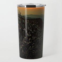 Cornfields with sundown | landscape photography Travel Mug