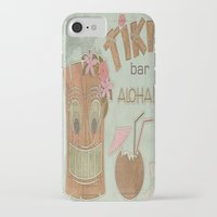 aloha iPhone & iPod Cases featuring Aloha by Robin Curtiss