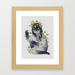 Celestial Decay Framed Art Print