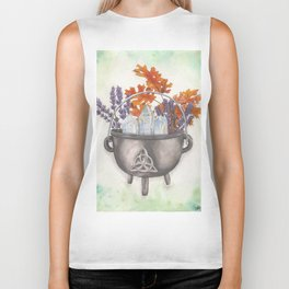 Toil and Trouble Biker Tank
