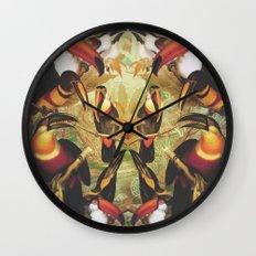 Tucans Wall Clock