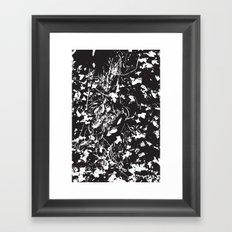 Dark ivy Framed Art Print