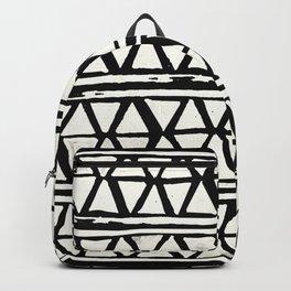 Tribal Geometric Band Backpack