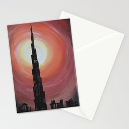 Burj Khalifa Stationery Cards