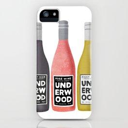 Underwood Wine iPhone Case