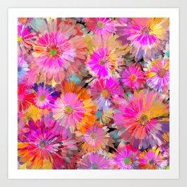 Flower carpet(49) Art Print