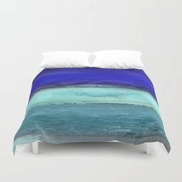 Midnight Waves Seascape Duvet Cover