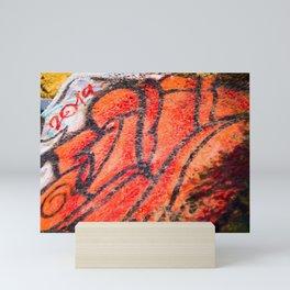 Sunken City Rose Painting Mini Art Print