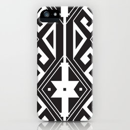 American Native Pattern No. 270 iPhone Case