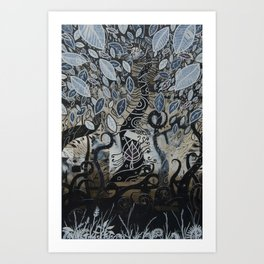 Seed 01 Art Print