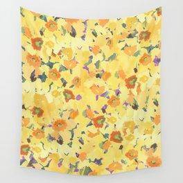 Daffodil Fields Wall Tapestry