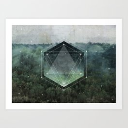 The Sacred Wood Art Print