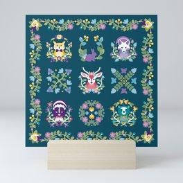 Baltimore Woods Quilt Mini Art Print