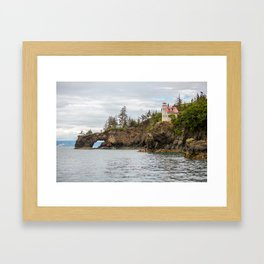 Halibut Cove, Alaska Framed Art Print