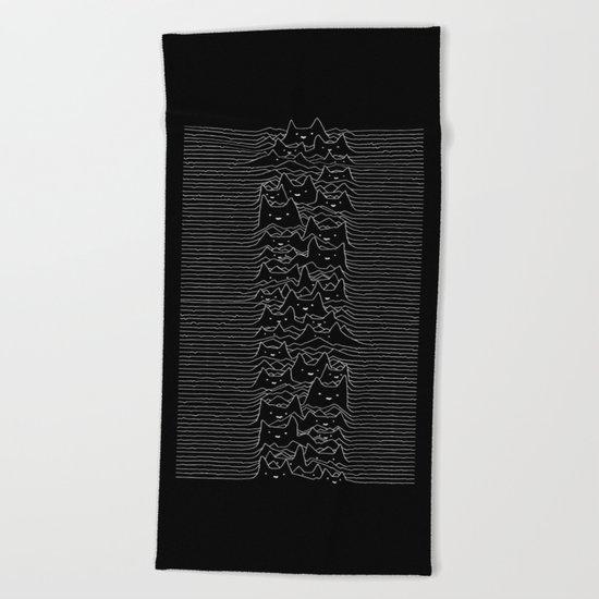Joy Division Unknown Pleasures Beach Towel