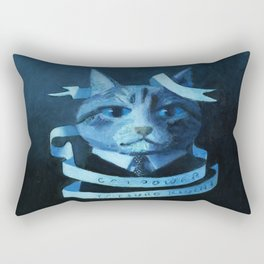 Cat Power Rectangular Pillow