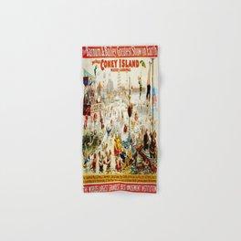 Vintage poster - Circus Hand & Bath Towel