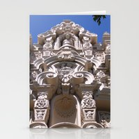 namaste Stationery Cards featuring Namaste by Davey Charles