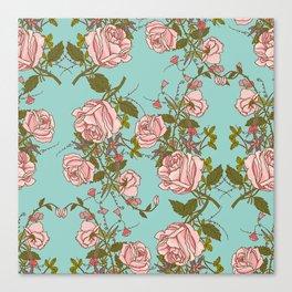 beautiful roses Canvas Print