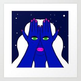 I've Got My Eyes On You Art Print