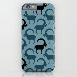 Angry Animals - Ibex iPhone Case