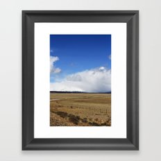 Field Framed Art Print