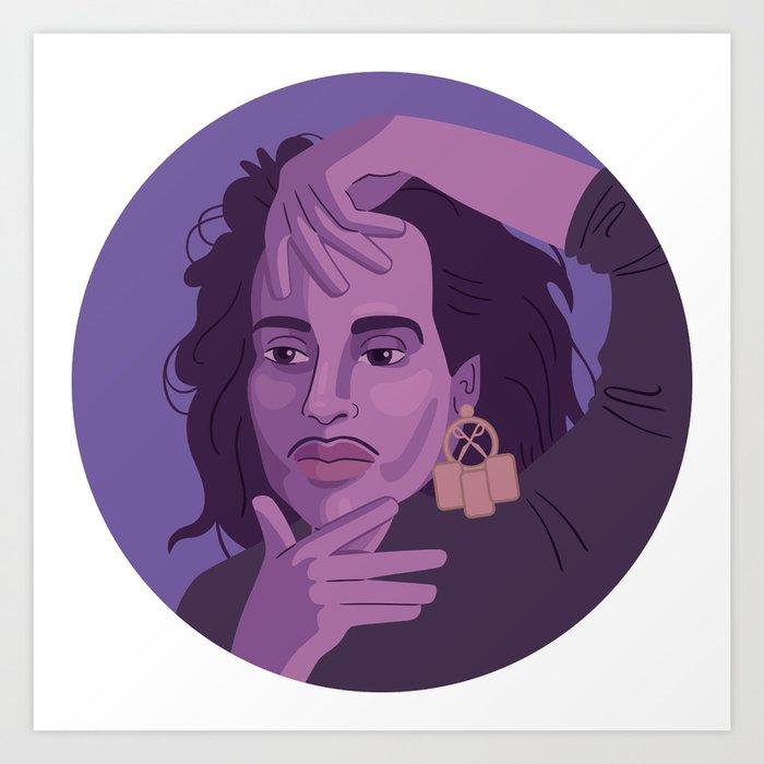 Queer Portrait - Willi Ninja Art Print