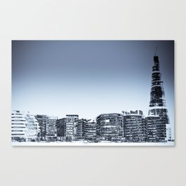 The Shard and London's southbank Canvas Print