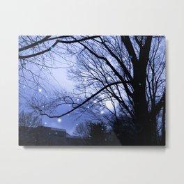 Remembering Fireflies Metal Print